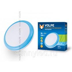 Cветильник накладной светодиодный 18Вт ULI-Q101 18W/NW WHITE/BLUE