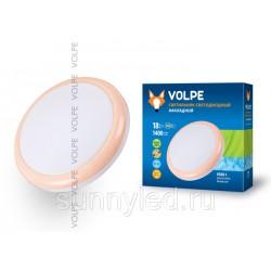 Cветильник накладной светодиодный 18Вт ULI-Q101 18W/NW WHITE/PINK