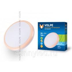 Cветильник накладной светодиодный 24Вт ULI-Q101 24W/NW WHITE/PINK