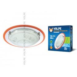 Светодиодный светильник накладной декоративный ULI-Q102 12W/NW WHITE/SILVER. ТМ VOLPE. 960 lm. IP 20