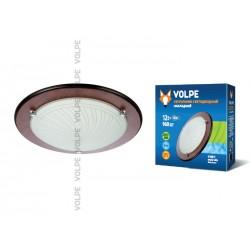 Светодиодный светильник накладной декоративный ULI-Q105 12W/NW WHITE/WOOD. ТМ VOLPE. 960 lm. IP 20.