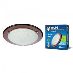 Светодиодный светильник накладной декоративный ULI-Q105 15W/NW WHITE/WOOD. ТМ VOLPE. 1200 lm. IP 20.