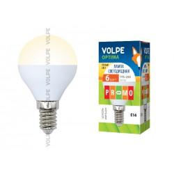 LED-G45-6W/WW/E14/FR/O картон