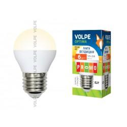 LED-G45-6W/WW/E27/FR/O картон