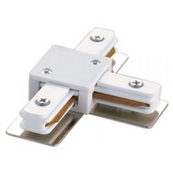 Соединитель для шинопроводов Т-образный UBX-Q121 K31 WHITE 1 POLYBAG