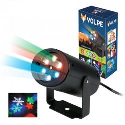 ULI-Q306 4W/RGB BLACK SNOWFLAKE
