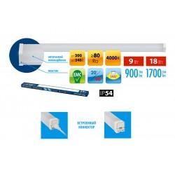 ULO-BL60-9W/NW/K IP54 WHITE Светильник светодиодный накладной