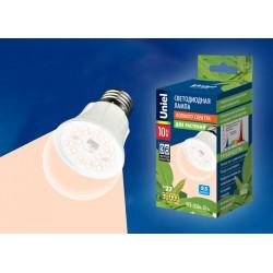 LED-A60-10W/SPFR/E27/CL PLP01WH Лампа светодиодная для растений.